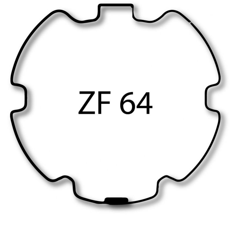 Bagues adaptation moteur Nice Era M et MH - ZF 64