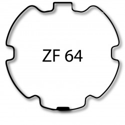 Bagues adaptation moteur Selve ZF 64