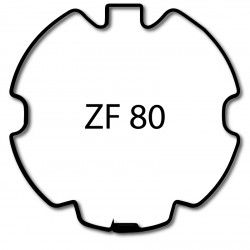 Bagues moteur volet roulant Elero Type 9 - ZF 80