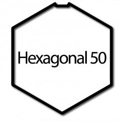 Bague moteur volet roulant Simu-Somfy LT50 T5 hexagonal 50