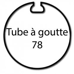 Bague adaptation moteur Deprat tube à goutte 78