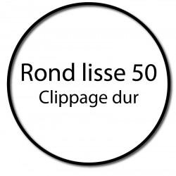 Bague adaptation moteur Somfy LT50 rond lisse 50 - clippage dur
