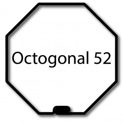 Bagues adaptation moteur Came 45 mm - Octogonal 52