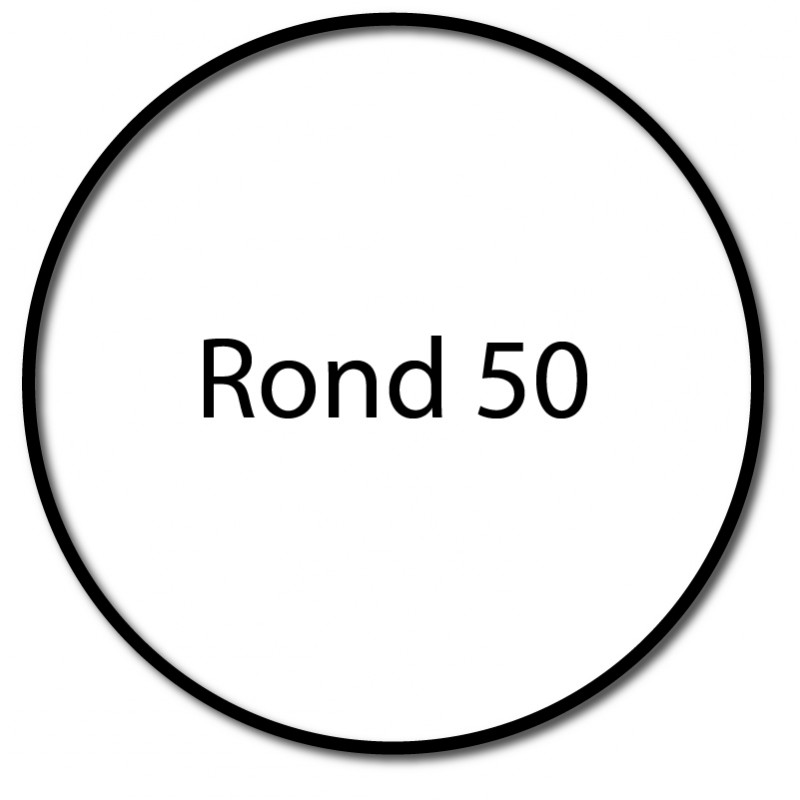 Bague adaptation moteur Nice Era M Rond 50 (couronne compensée)