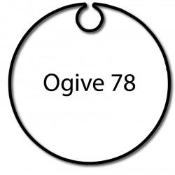 Bagues adaptation moteur Nice Era M et MH - Ogive 78