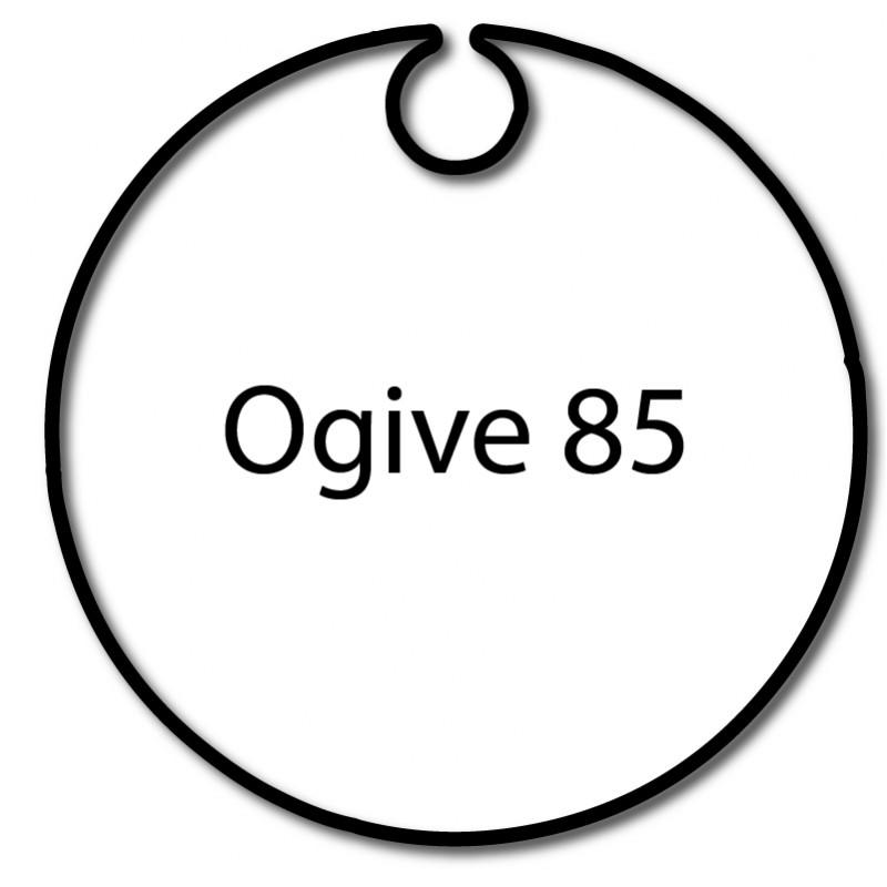 Bagues adaptation moteur Came 55 mm - Ogive 85