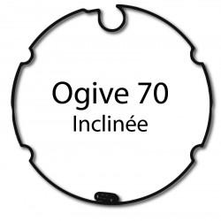 Bagues adaptation moteur Came 45 mm - Ogive inclinee 70