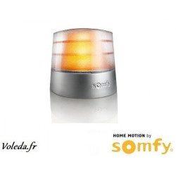 Feu de signalisation orange Somfy Masters Pro 230V clignotant