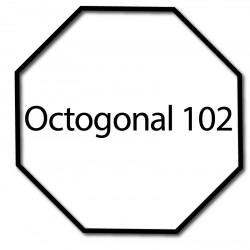 Bagues adaptation moteur Nice Era M et MH - Octogonal 102
