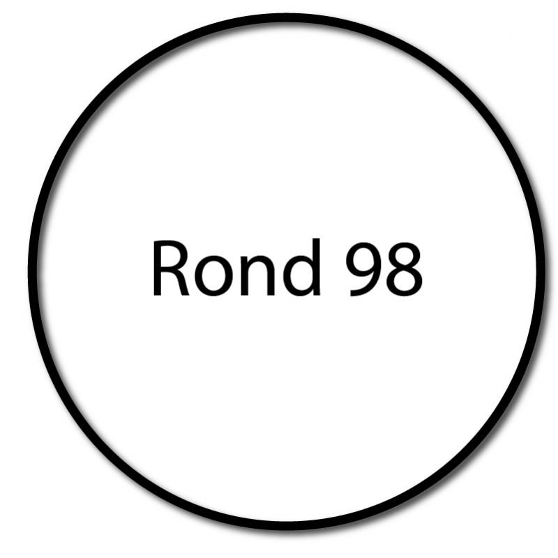 Bagues adaptation moteur Came 55 mm - Rond 98