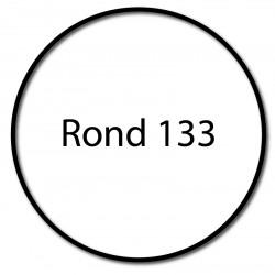Bague adaptation moteur Somfy LT60 diametre 133x2.5
