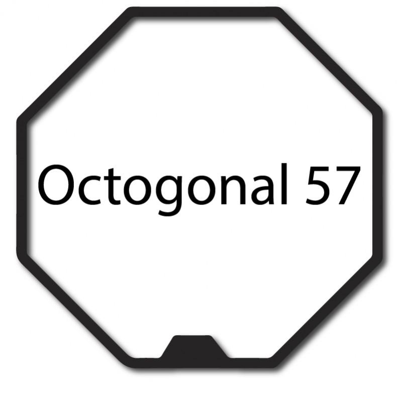 Bague adaptation moteur Nice Era M octogonal 57