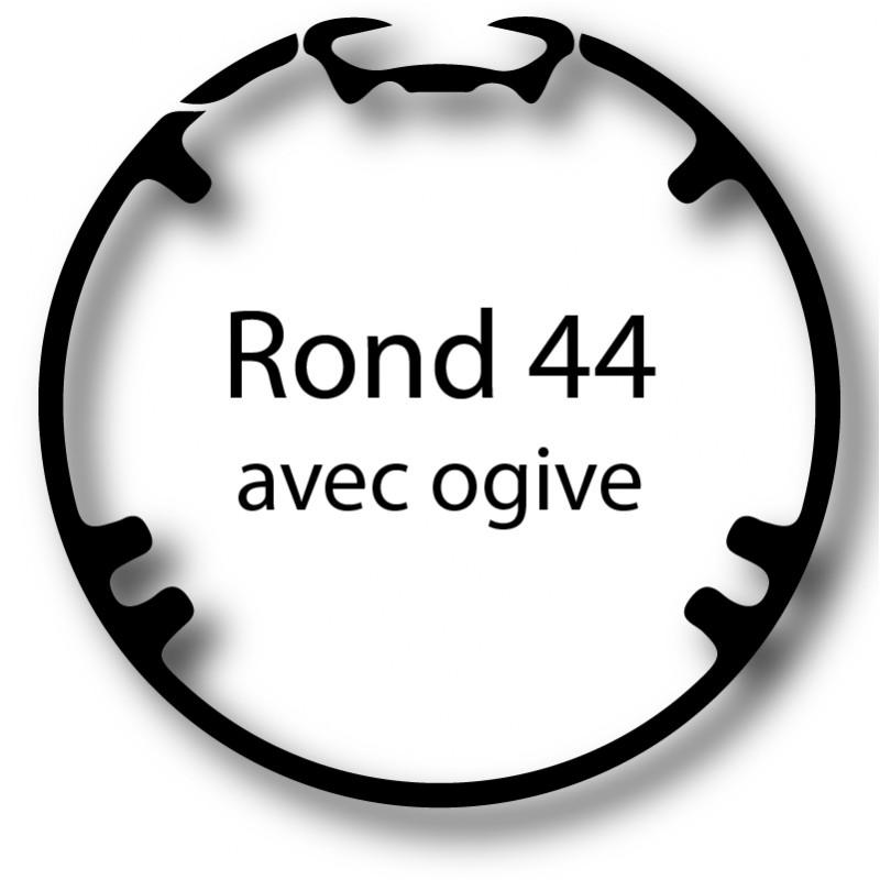 Bague adaptation moteur Nice Neo S - Era S - Rond 44 avec ogive