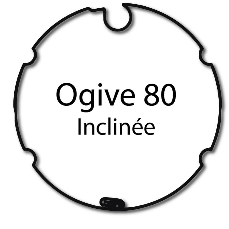 Bague adaptation moteur Nice Era M Ogive 80 inclinée