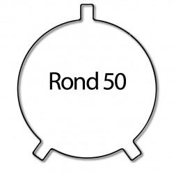 Bague adaptation moteur Nice Era M et MH - Rond 50 x 1,8 - Roue