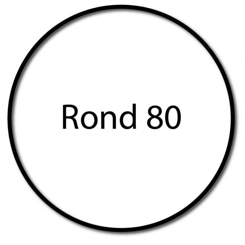 Bague adaptation moteur Nice Era L Rond 80