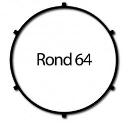 Bague adaptation moteur Nice Era L Rond 64