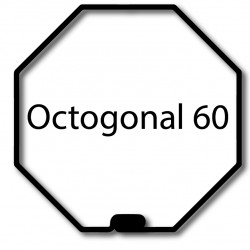 Bagues adaptation moteur Nice Era M et MH - Octogonal 60