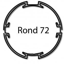 Bagues moteur volet roulant Cherubini - Rond 72