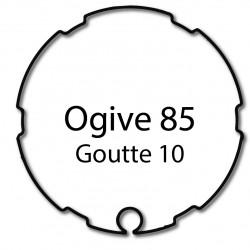 Bagues moteur Cherubini - Ogive 85 - Volet roulant - Store