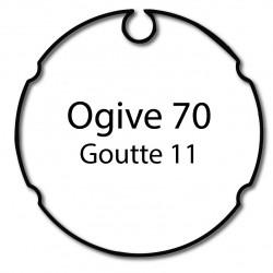 Bagues moteur Cherubini - Ogive 70 - Volet roulant - Store