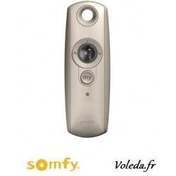 Telecommande Somfy Telis 1 variation Rts silver