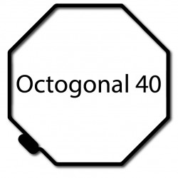 Bagues moteur volet roulant Simu-Somfy - Octogonal 40 Simbac