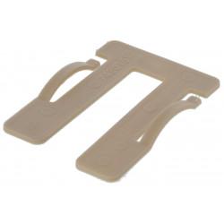 Cale fourchette menuiserie 60 mm épaisseur 1.5 mm