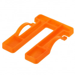 Cale fourchette menuiserie 60 mm épaisseur 5 mm