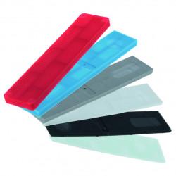 Cales vitrages menuiserie - Assortiment largeur 20, 24 et 28 mm