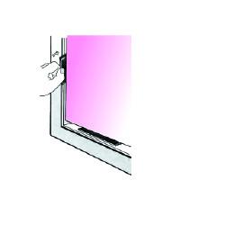 Lot de 1000 cales vitrages largeur 28 mm épaisseur 3 mm