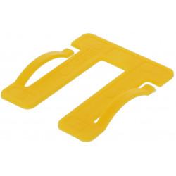 Cale fourchette menuiserie 50 mm épaisseur 1.5 mm