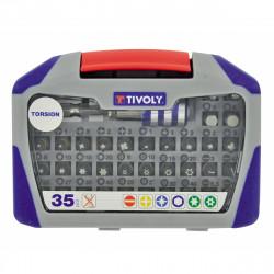35 pièces de vissage Torsion Tivoly