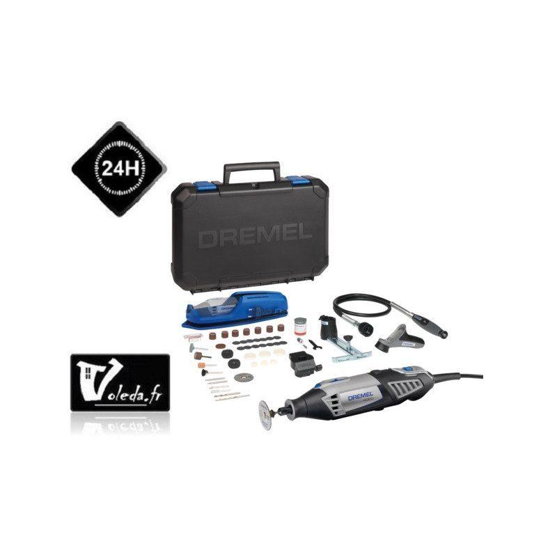 Outil multifonctions Dremel 4000 - Coffret 65 accessoires