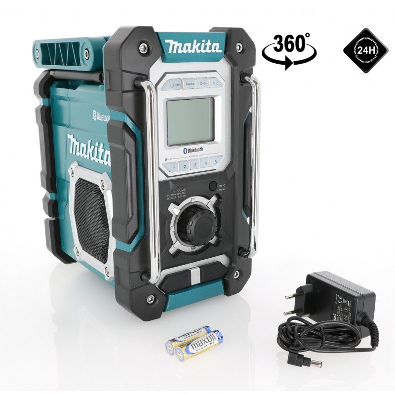 Radio de chantier Makita 7,2 à 18 V Li-Ion - Makita DMR108
