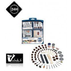 Coffret Dremel 150 accessoires multi-usages