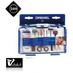 Coffret Dremel 52 accessoires multi-usages