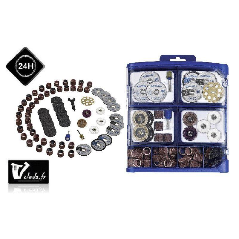 Coffret Dremel 70 accessoires EZ SPeedClic