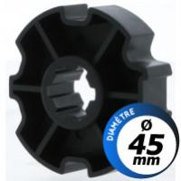 Bague d'adaptation moteur Selve GR2 - diamètre 45 mm