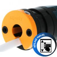 Somfy Oximo 50 RTS 40//17 rideau roulant moteur rideau roulant propulsion Rohrmotor rideau roulant
