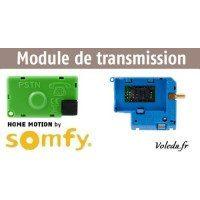 Transmission téléphonique Somfy