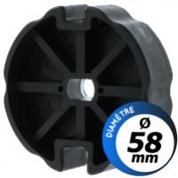 Bagues d'adaptation moteur de store Came de 55 mm