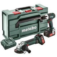 Lot d'outillage Metabo