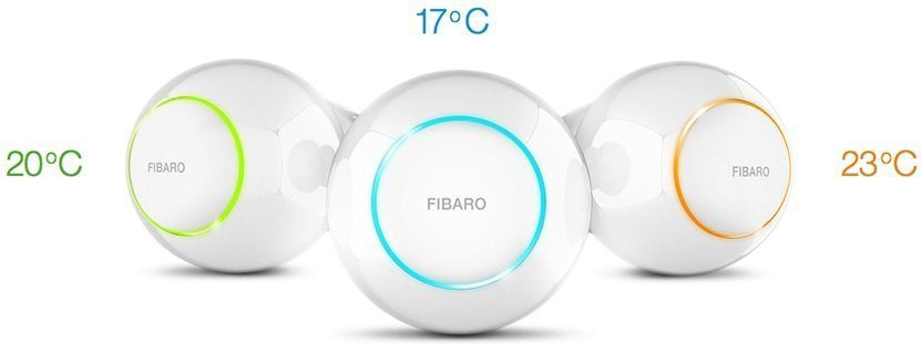 tete thermostatique fibaro heat controller
