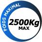 Moteur portail coulissant Nice Run 2500 L RUN2500L