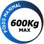Moteur Nice Robuskit 600 RB600BDKCE-CB