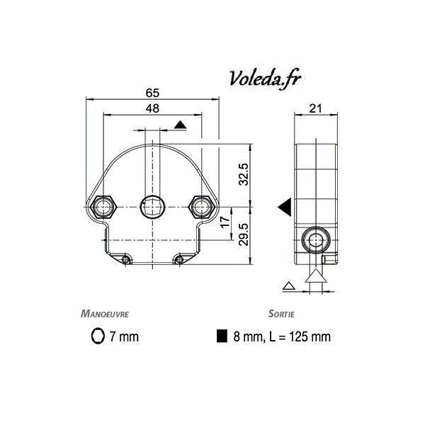 Treuil 1 6 Bubendorff Afc Volet Roulant 237011